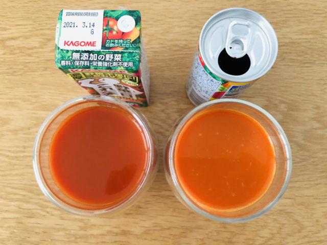 野菜ジュース 飲み比べ
